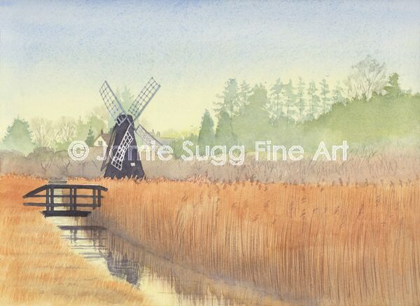 Wicken Fen Windpump 1, 297mm x 210mm