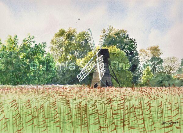 Wicken Fen Windpump 2, 297mm x 210mm