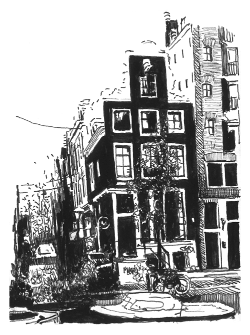Amsterdam Sketch Book 1