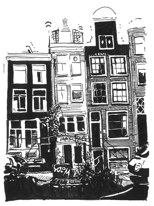 Amsterdam Sketch Book 3
