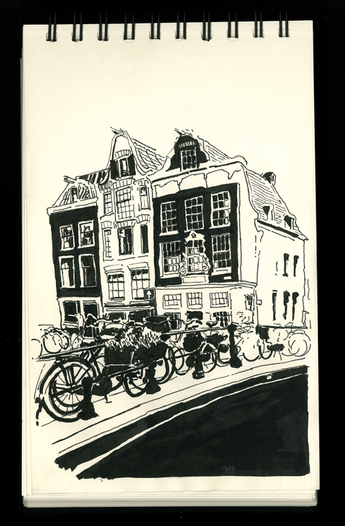 Amsterdam sketch book 5