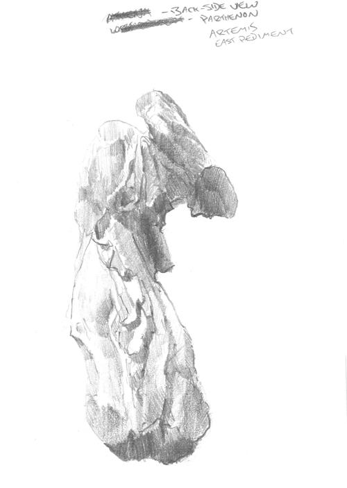 Artemis from behind