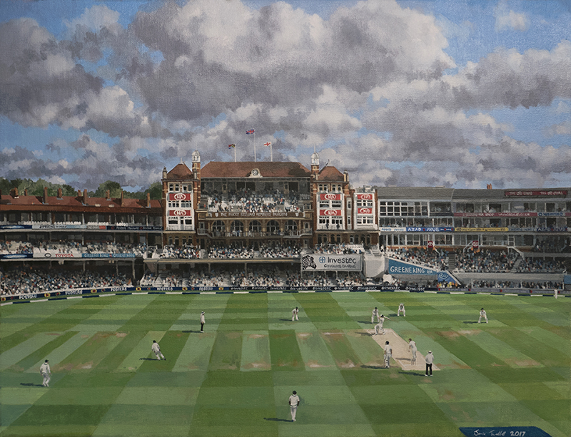 100th Test Match at The Oval, 2017
