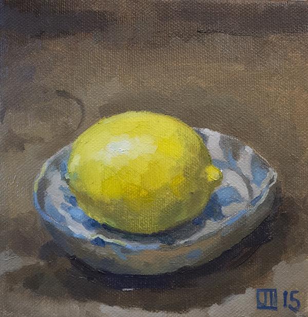 Lemon in Stan's Bowl