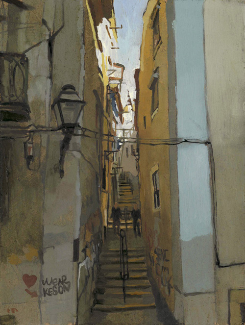Lisbon Alleyway 1