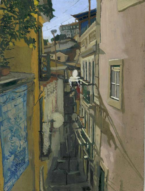 Lisbon Alleyway 8 SOLD
