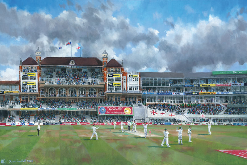Ashes Oval painting