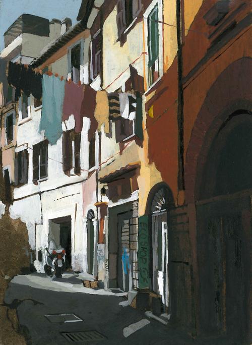 Rome Street Scene 7