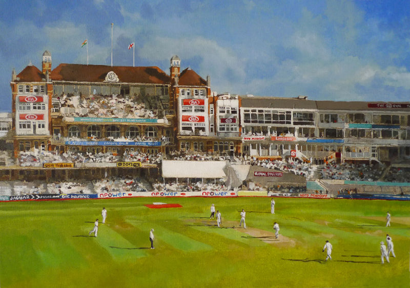 England India, The Oval 2011 SOLD