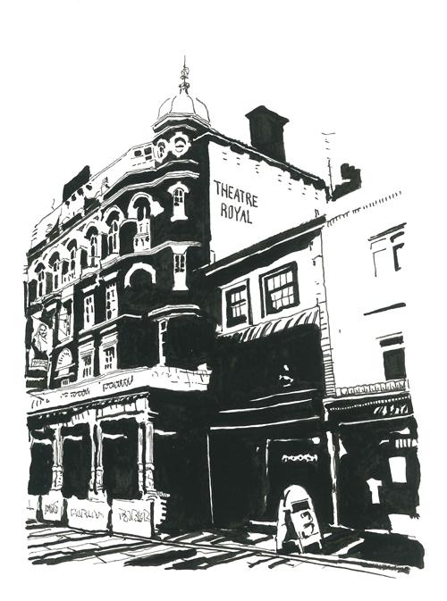 The Theatre Royal Brighton