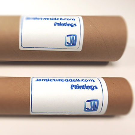 Example of print tube