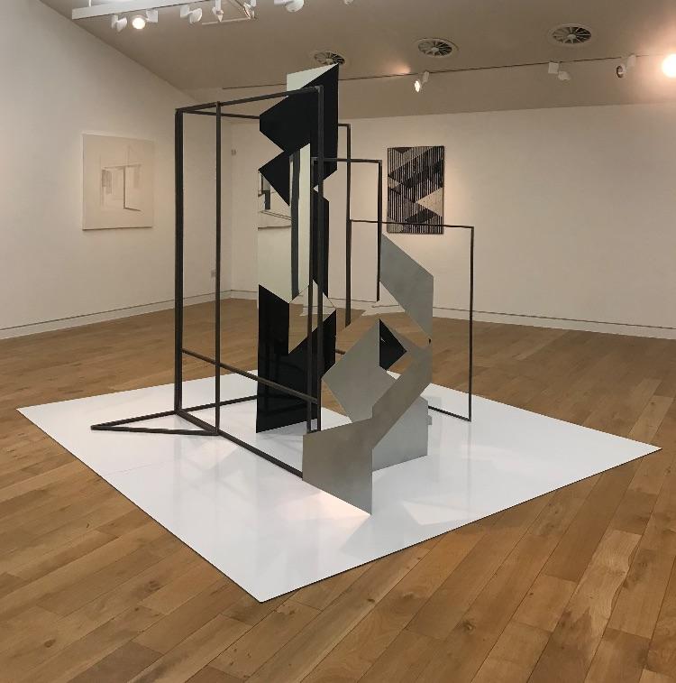 Border Controls.Rosalind Davis and Justin Hibbs at the Sevenoaks Kaleidoscope Gallery