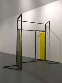 Rosalind Davis.Haus Konstructiv. No format Gallery. Steel & Perspex. Dimensions variable.III