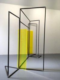 Rosalind Davis.Haus Konstructiv. No format Gallery. Steel & Perspex. Dimensions variable.IV