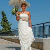 Bride in the Spanish sunshine