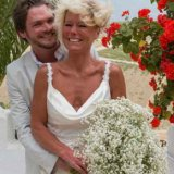 Bride and Groom enjoying the Spanish sunshine