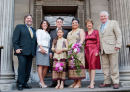 Bride, Groom and family