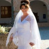 Bride in the Spanish sunshine