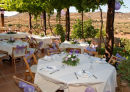 The Reception set at an old Spanish Finca