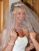 Excited Bride