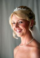 Kayleigh on her wedding day