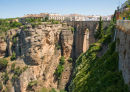 Tajo Bridge over gorge Ronda Spain