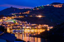 Pinhao Village on the river Douro in Portugal
