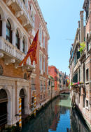 Venice, a small side canal