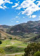 View over Cortijo Grande Golf Course towards Cabrera