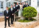 Bride Groom and Bestmen and Ushers