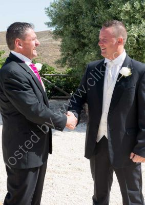 Andy and Best Man