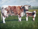 'Crumble & her calf'