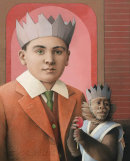 BOY WITH A MONKEY (MASTER & SLAVE)