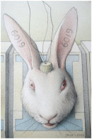 EARTHLINGS 14 - RABBITS IN STOCKS (DETAIL)