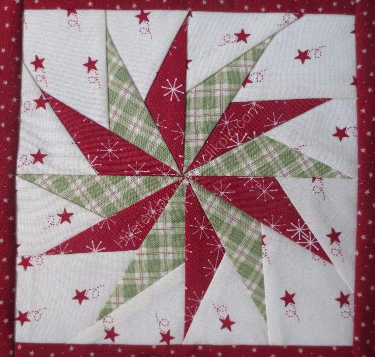 Christmas stars detail