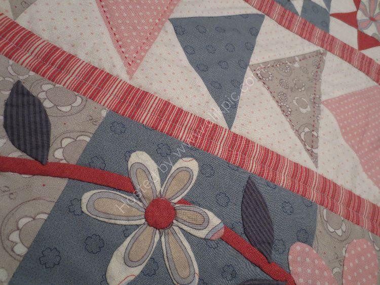 Sew A Row Quilt applique