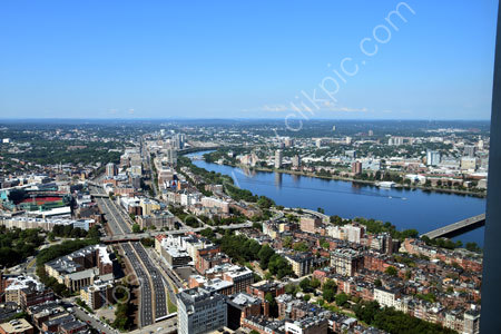Boston from the Sky Walk Observatory