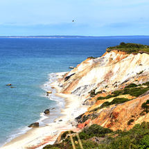 Cloured Cliffs,Aquinnah, Martha's Vineyard
