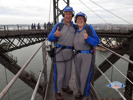 On Top Of The Bridge