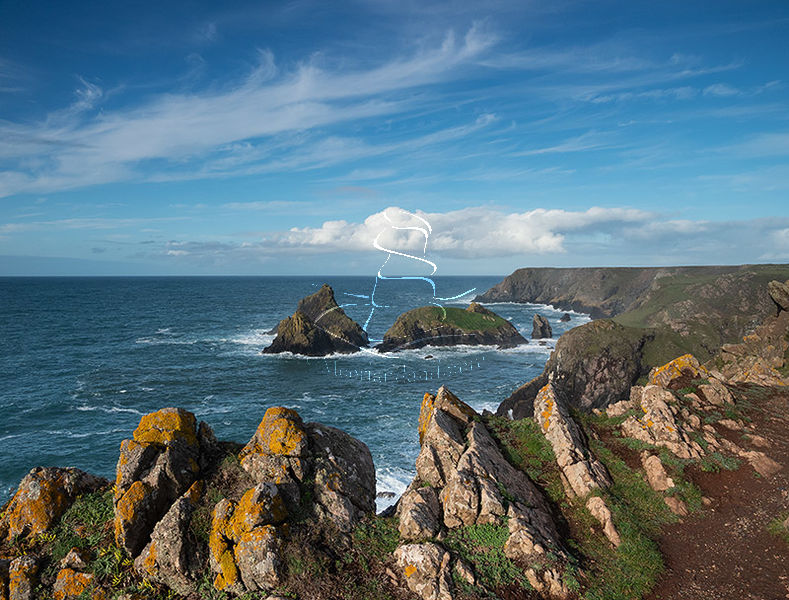View to Kynance Cove