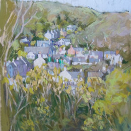 L Solva from the path