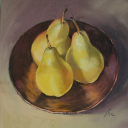 Pears on Copper
