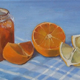 Three Fruit Marmalade. Oil