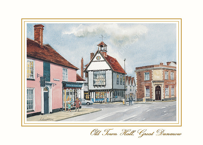 2. Old Town Hall, Great Dunmow