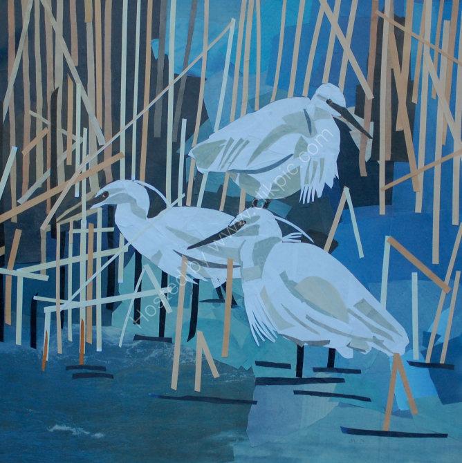 little egret group SOLD