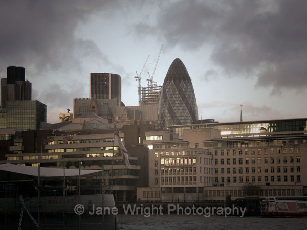 30 St Mary Axe and other buildings