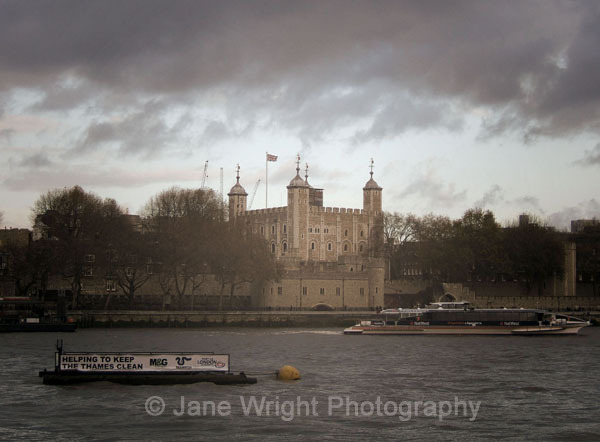 Clouds above the Tower...