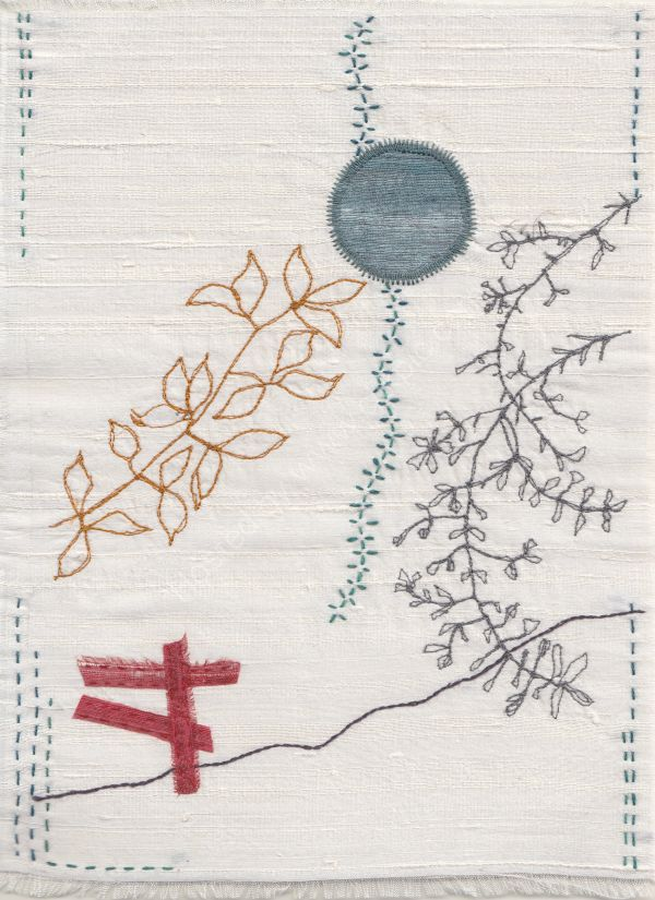 In the Forest of Dean (Wabi Sabi textile)