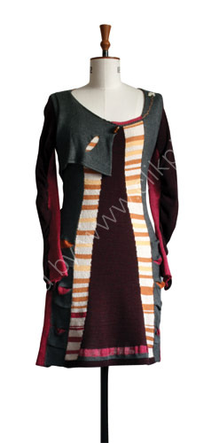Willow dress inspired by Margaret Macdonald Mackintosh
