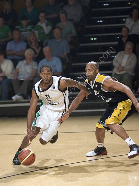 Vs Newcastle Eagles 8th April 2007